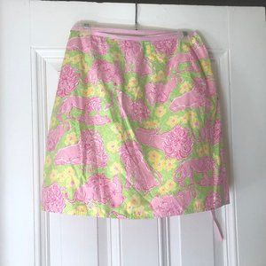 Lilly Pulitzer wrap skirt